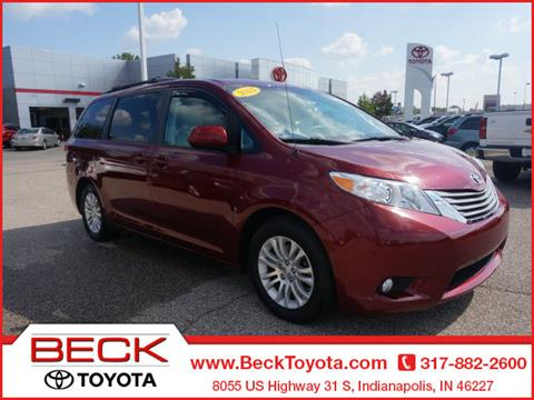 2014 Toyota Sienna for sale in Indianapolis, IN