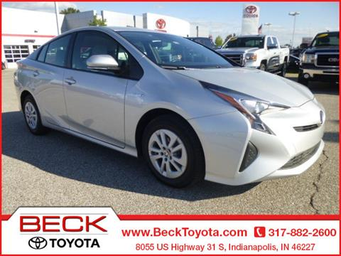 2017 Toyota Prius for sale in Indianapolis IN