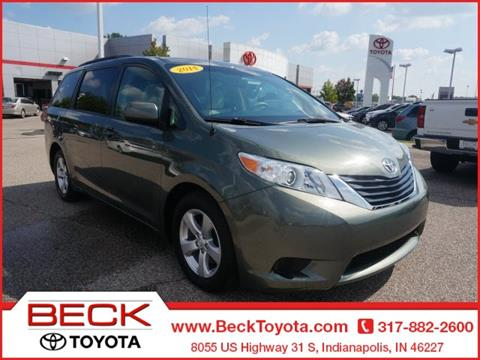2014 Toyota Sienna for sale in Indianapolis IN