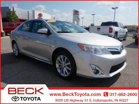 2014 Toyota Camry Hybrid for sale in Indianapolis IN