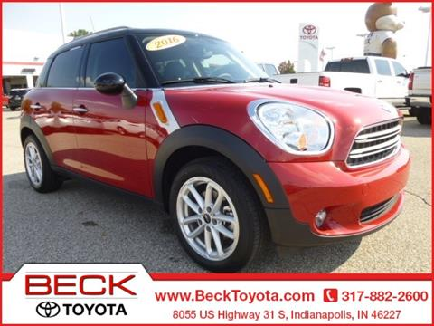 2016 MINI Countryman for sale in Indianapolis, IN
