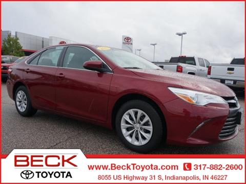 2015 Toyota Camry for sale in Indianapolis IN