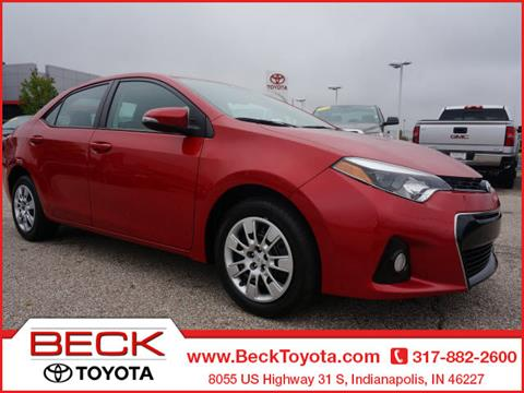 2015 Toyota Corolla for sale in Indianapolis IN