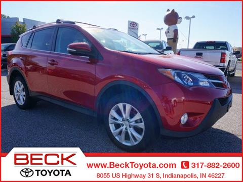 2013 Toyota RAV4 for sale in Indianapolis IN