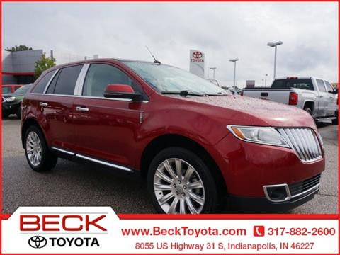 2013 Lincoln MKX for sale in Indianapolis, IN