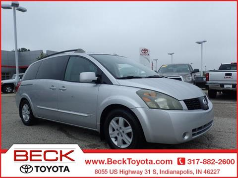 2005 Nissan Quest for sale in Indianapolis IN