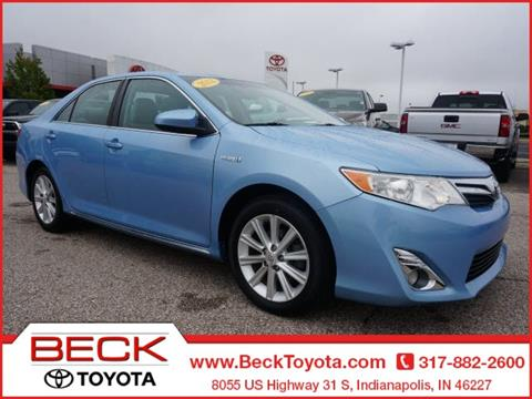 2012 Toyota Camry Hybrid for sale in Indianapolis IN