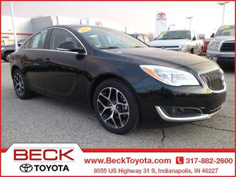 2017 Buick Regal for sale in Indianapolis IN