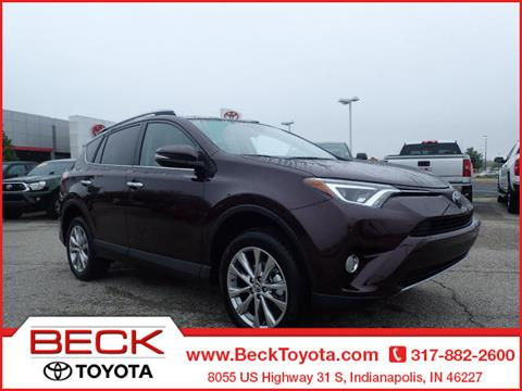 2017 Toyota RAV4 for sale in Indianapolis IN