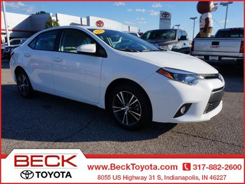 2016 Toyota Corolla for sale in Indianapolis IN