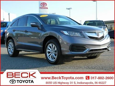 2018 Acura RDX for sale in Indianapolis, IN