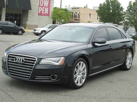 2014 Audi A8 for sale at HI CLASS AUTO SALES in Staten Island NY