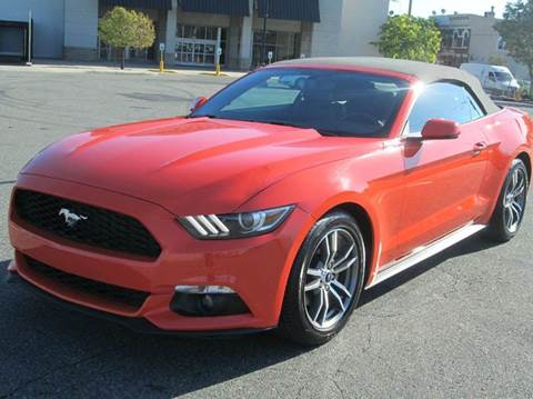 2016 Ford Mustang for sale at HI CLASS AUTO SALES in Staten Island NY