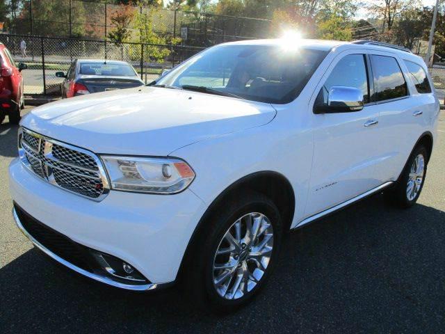 2015 Dodge Durango for sale at HI CLASS AUTO SALES in Staten Island NY