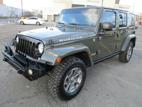 2015 Jeep Wrangler Unlimited for sale at HI CLASS AUTO SALES in Staten Island NY