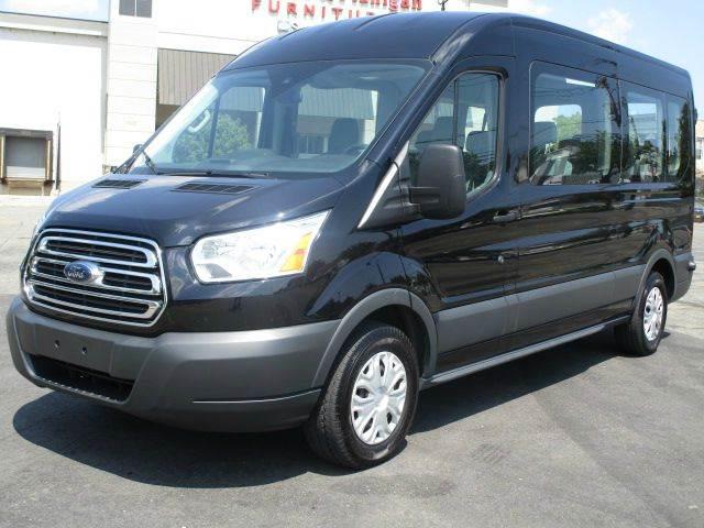1b788d4580 2016 Ford Transit Wagon 350 XLT 3dr LWB Medium Roof Passenger Van w Sliding  Passenger Side Door