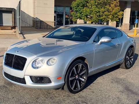2013 Bentley Continental for sale in Staten Island, NY