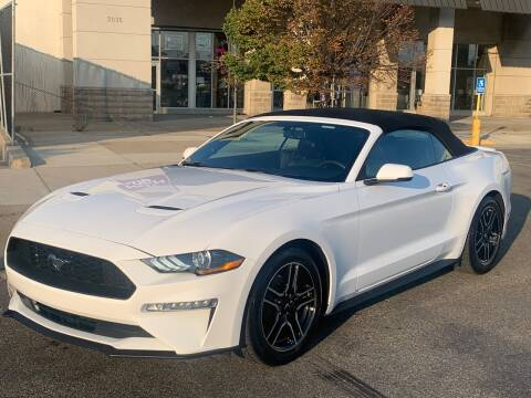 2018 Ford Mustang for sale at HI CLASS AUTO SALES in Staten Island NY