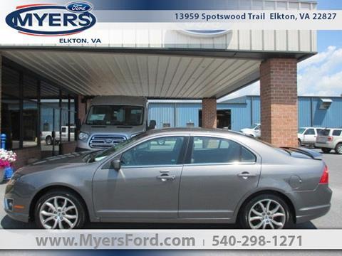 2010 Ford Fusion for sale in Elkton, VA