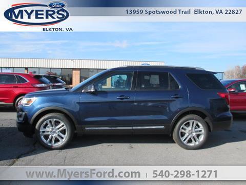 2017 Ford Explorer for sale in Elkton, VA