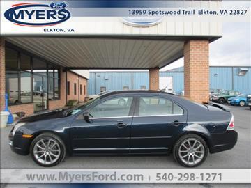 2009 Ford Fusion for sale in Elkton, VA