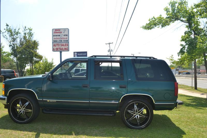 1997 Chevrolet Tahoe LS 4dr 4WD SUV - Charlotte NC