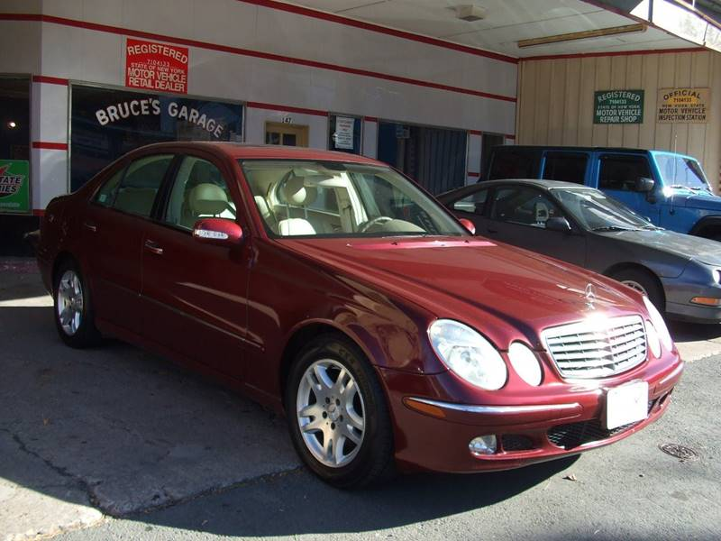 2003 mercedes benz e class e320 4dr sedan in liberty ny. Black Bedroom Furniture Sets. Home Design Ideas