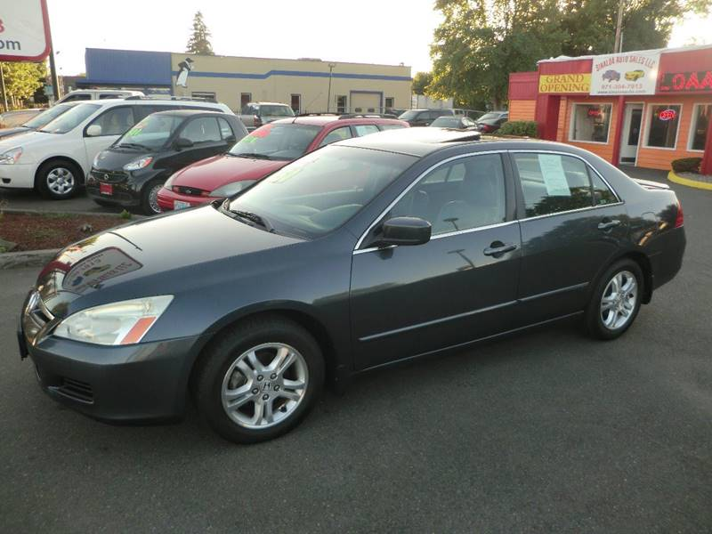 2007 Honda Accord EX-L 4dr Sedan (2.4L I4 5A) - Salem OR
