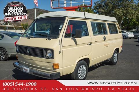 1980 Volkswagen Vanagon for sale in San Luis Obispo, CA
