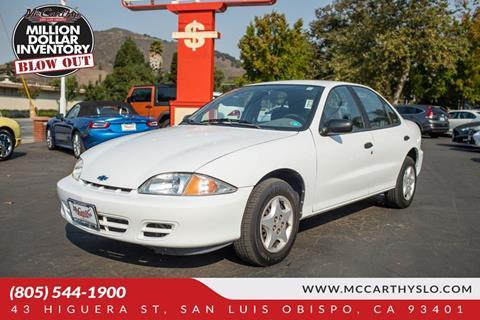 2000 Chevrolet Cavalier for sale in San Luis Obispo, CA