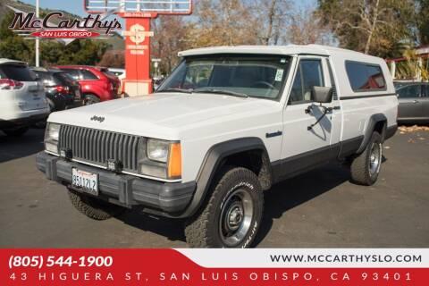 1988 Jeep Comanche Pioneer