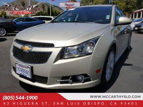 2014 Chevrolet Cruze for sale at McCarthy Wholesale in San Luis Obispo CA