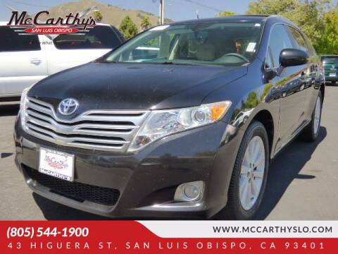 2010 Toyota Venza for sale at McCarthy Wholesale in San Luis Obispo CA