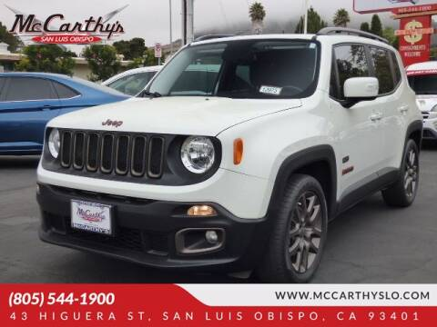 2016 Jeep Renegade for sale at McCarthy Wholesale in San Luis Obispo CA