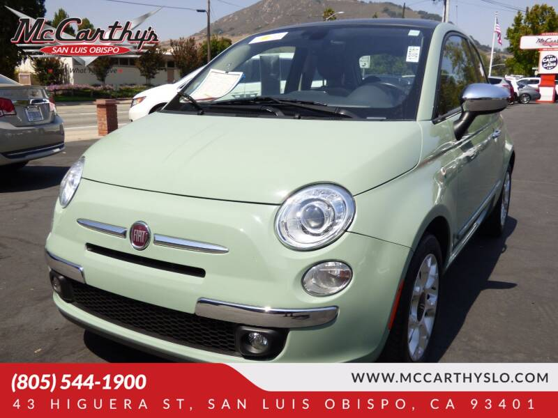 2017 FIAT 500 for sale at McCarthy Wholesale in San Luis Obispo CA