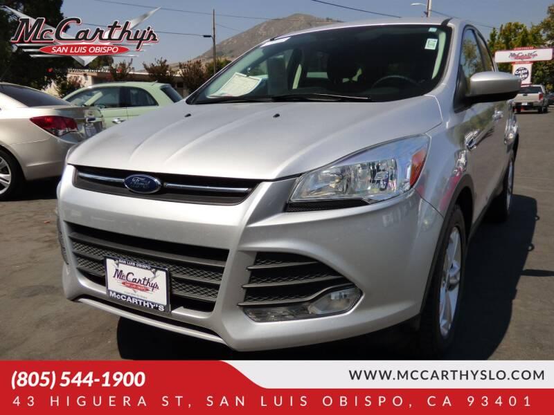 2016 Ford Escape for sale at McCarthy Wholesale in San Luis Obispo CA