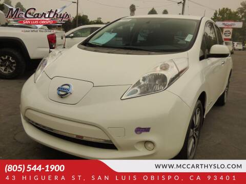 2015 Nissan LEAF for sale at McCarthy Wholesale in San Luis Obispo CA