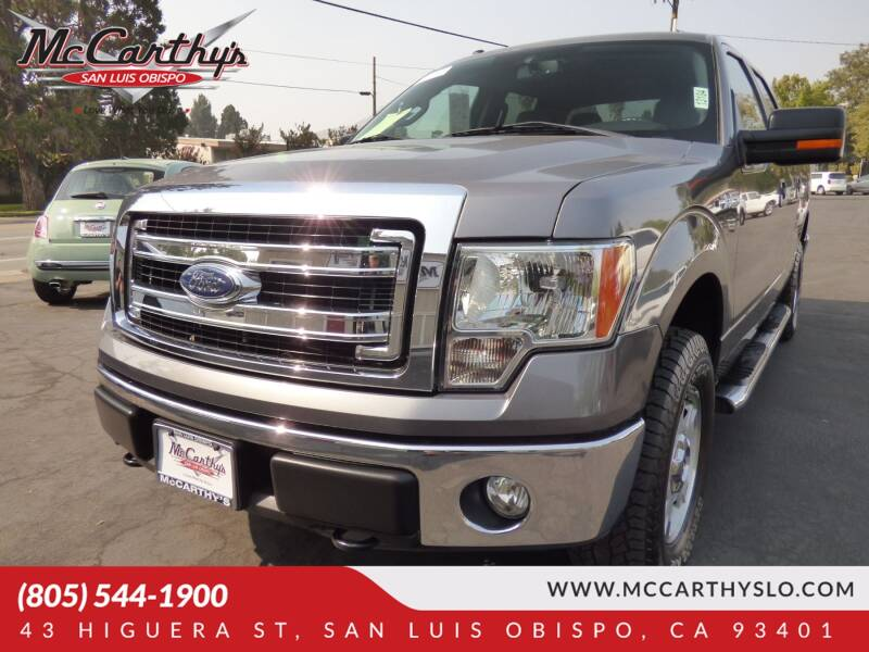 2014 Ford F-150 for sale at McCarthy Wholesale in San Luis Obispo CA
