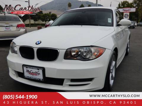 2009 BMW 1 Series for sale at McCarthy Wholesale in San Luis Obispo CA