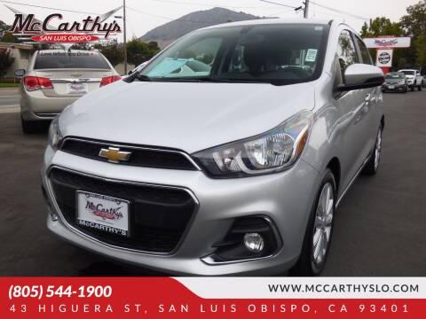 2017 Chevrolet Spark for sale at McCarthy Wholesale in San Luis Obispo CA