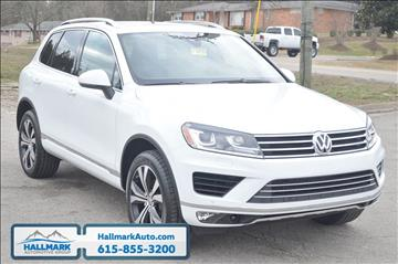 2017 Volkswagen Touareg for sale in Madison, TN