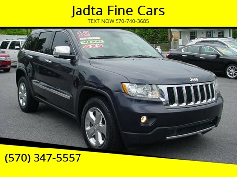 Used Jeeps For Sale In Pa >> 2012 Jeep Grand Cherokee For Sale In Scranton Pa