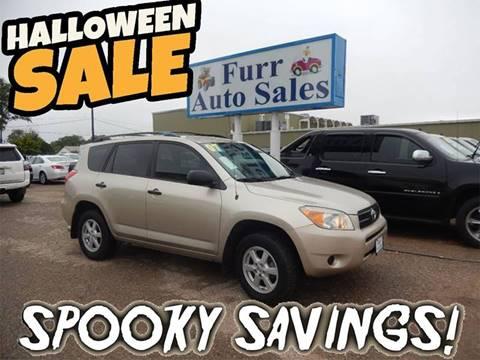 2007 Toyota RAV4 for sale in Lubbock, TX