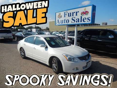 2012 Nissan Altima for sale in Lubbock, TX