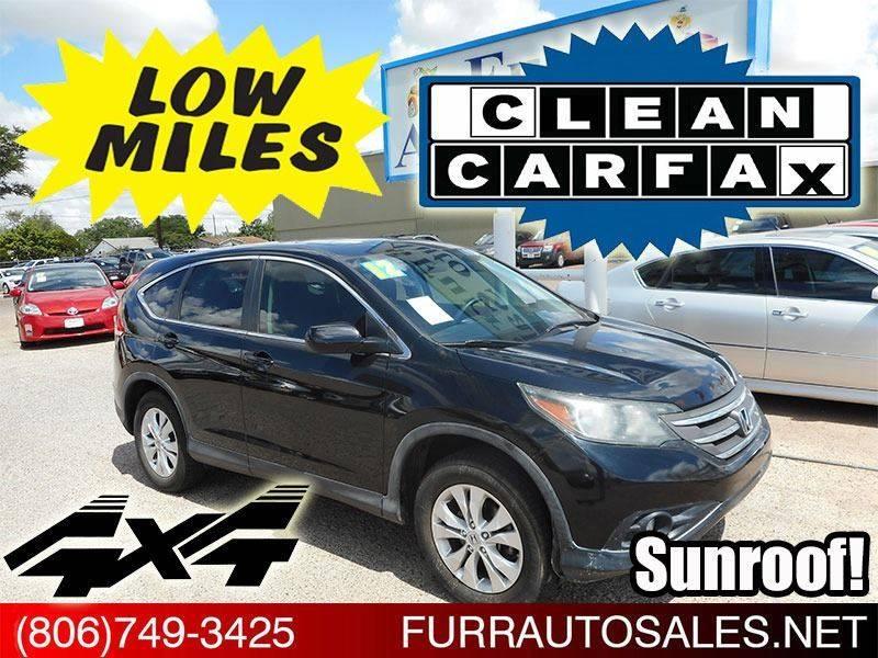 2012 Honda CR V AWD EX 4dr SUV   Lubbock TX