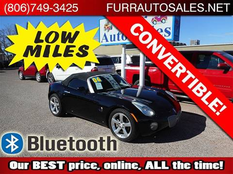 2006 Pontiac Solstice for sale in Lubbock, TX