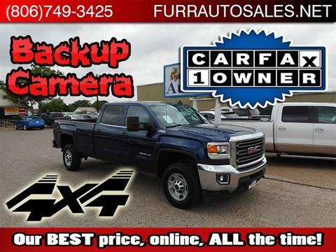 2015 GMC Sierra 2500HD for sale in Lubbock, TX