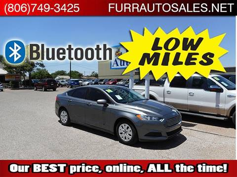 2014 Ford Fusion for sale in Lubbock, TX