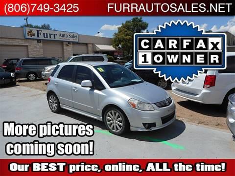 2011 Suzuki SX4 Sportback for sale in Lubbock, TX