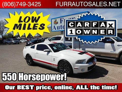 2011 Ford Shelby GT500 for sale in Lubbock, TX